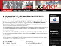 Kongress- und Messeplaner X-MKP